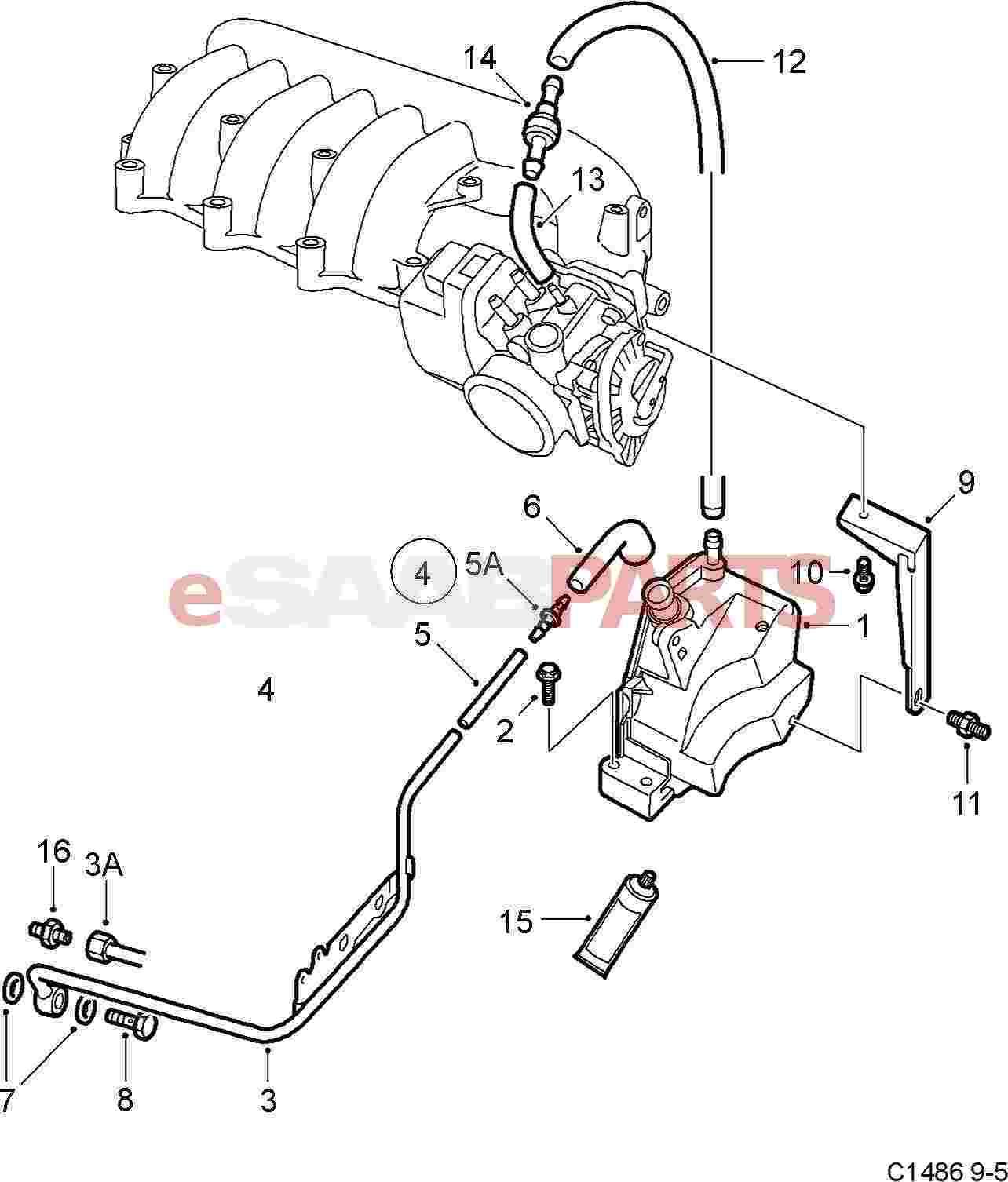 1992 Saab 900 Turbo Engine Diagram 1992 Saab 9000 Turbo EFI Saab 9000 Turbo  Engine Diagram