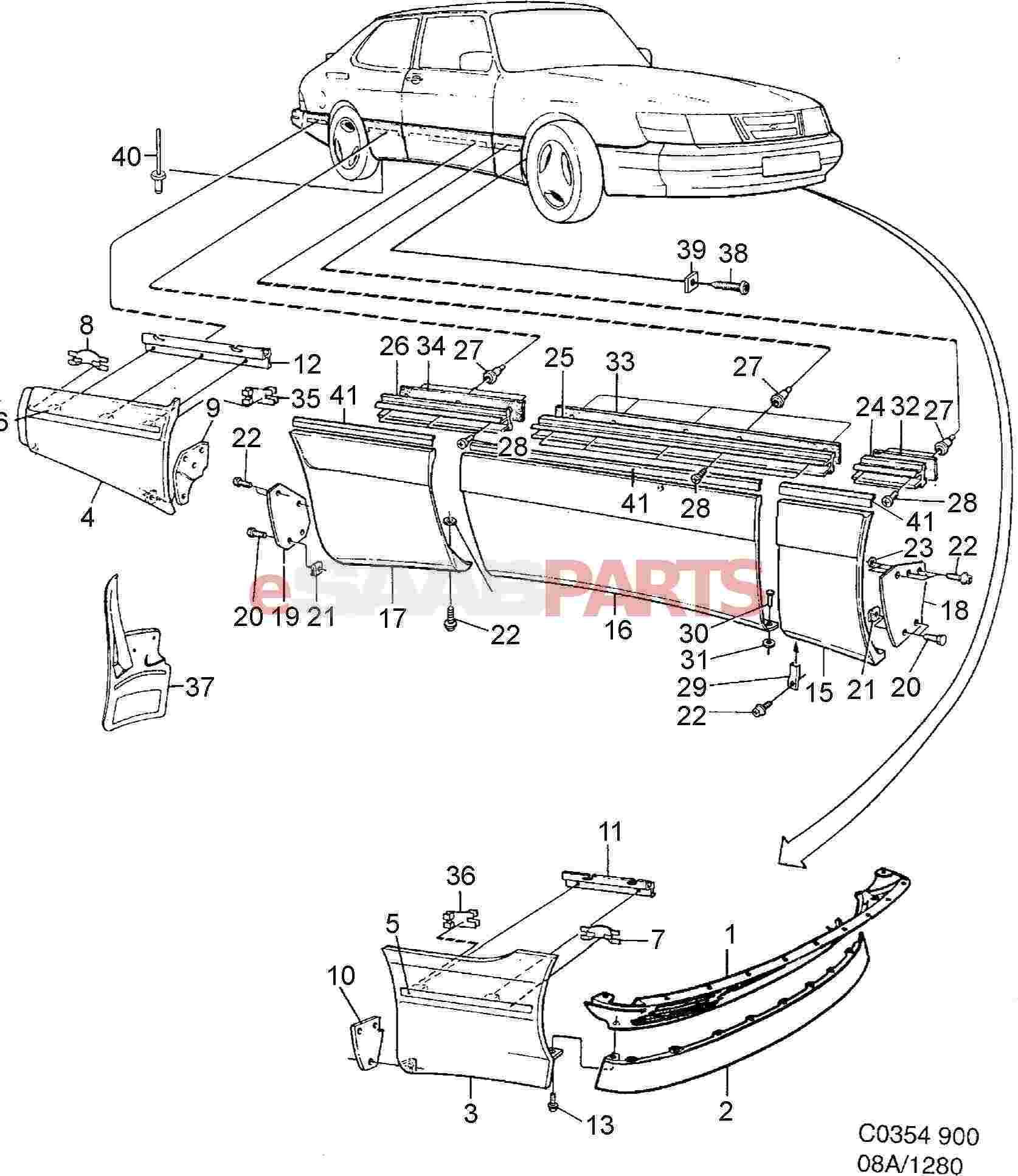 Saab 900 spg body parts diagram 1998 saab 900 convertible wiring at w justdeskto allpapers