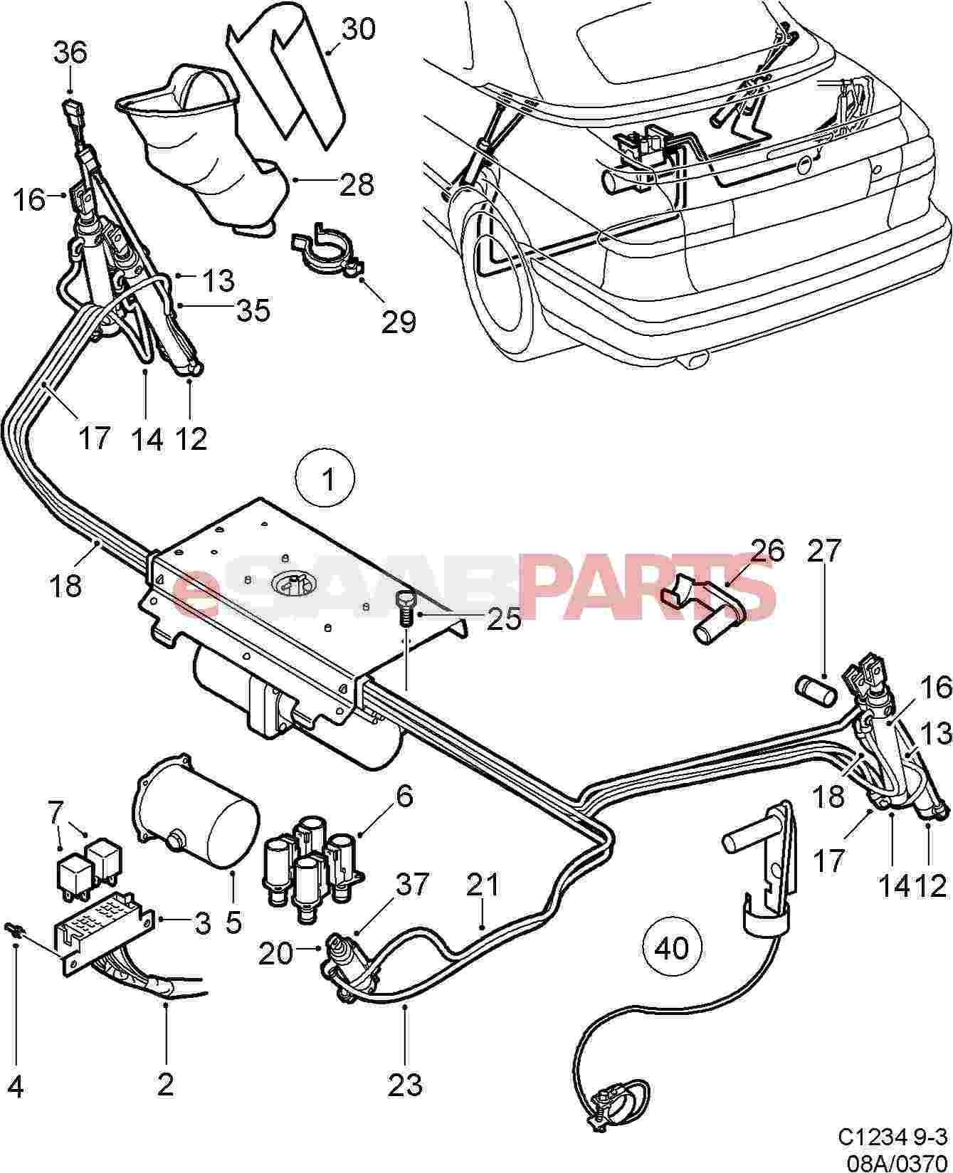 92150012 saab screw genuine saab parts from esaabparts rh esaabparts