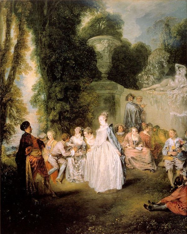 French Rococo  Watteau  Boucher and Fragonard   Escape Into Life