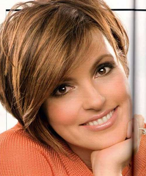 Short Female Hairstyles For Round Faces Page 16