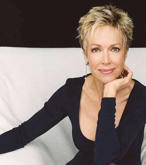 Short Hairstyles For Women Over 50 With Fine Thin Hair Page 1