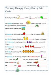 the very hungry caterpillar text # 4