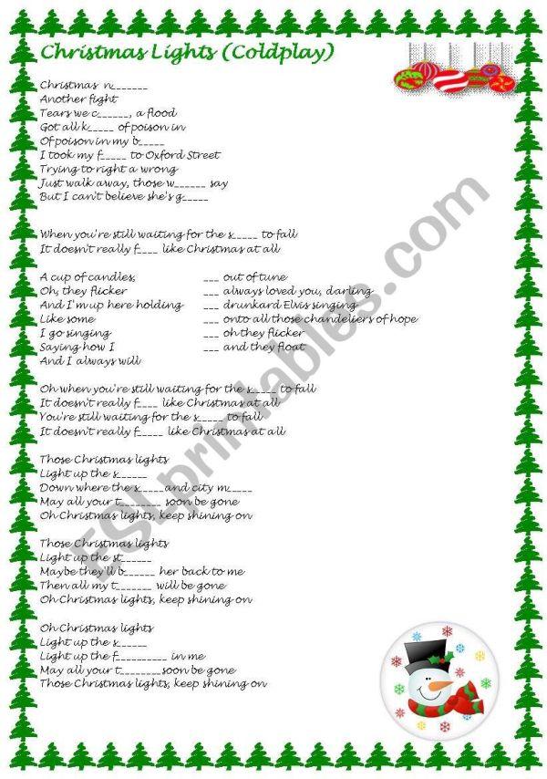 christmas lights coldplay # 65
