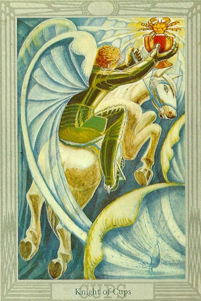 Knight Of Wands Tarot Card