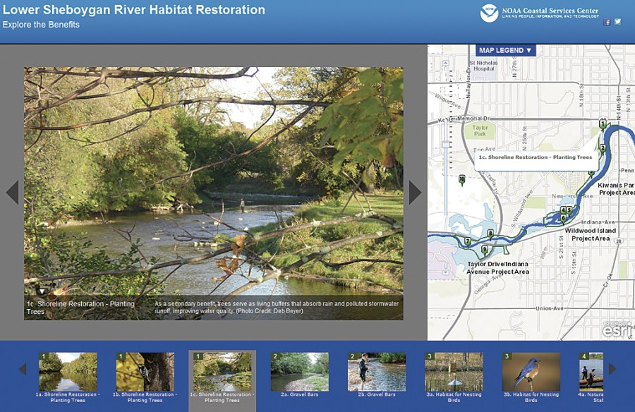 What Can You Do with a Story Map  This story map was created by the National Oceanic and Atmospheric  Administration  NOAA