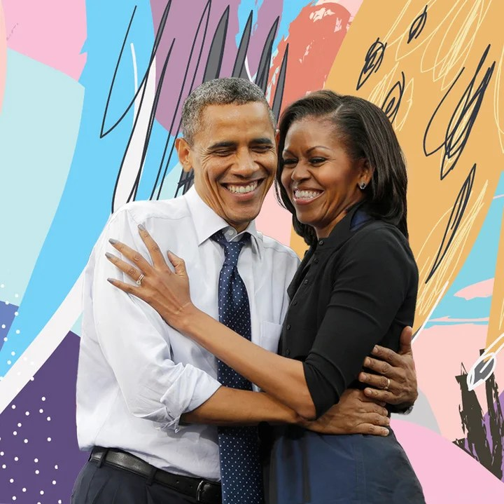 Michelle Obama Shares Throwback Wedding Day Photo, Says ...