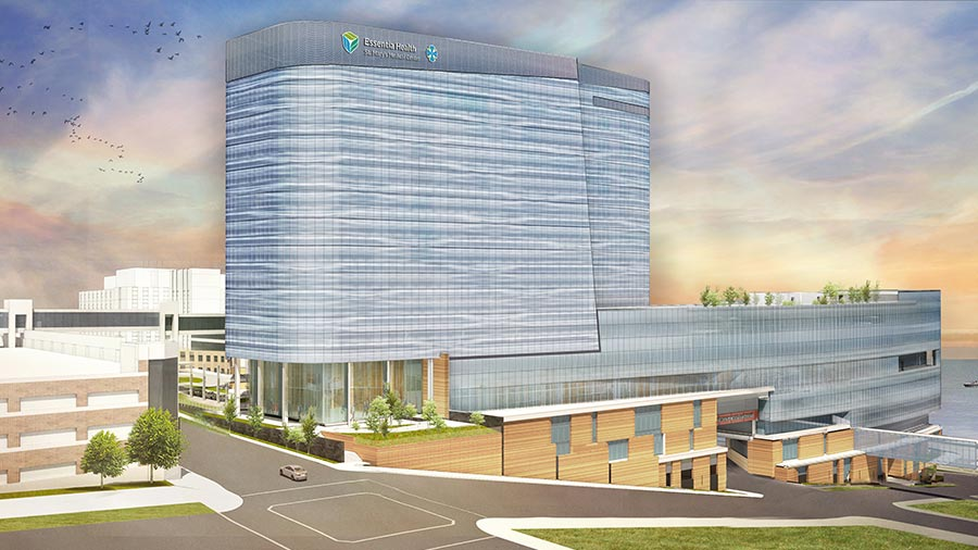 Vision Northland Duluth Building Project Essentia Health