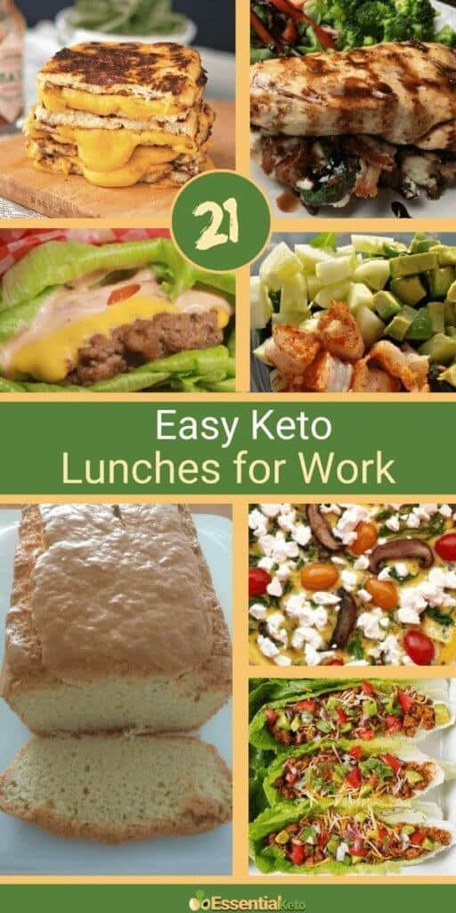Easy Keto Lunches For Work Essential Keto