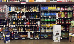 Wall Liquor Shelving     Gondola Shelving Solutions   ESSI Store Fixtures Wall Liquor Shelving