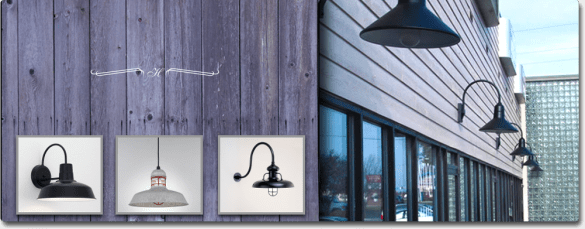 Large Selection of Barn Lights from Hi Lite Manufacturing   Estrin     Discover our Commercial Shade Collection  featuring a variety of American made  barn lighting and industrial lighting fixtures  This eclectic collection of