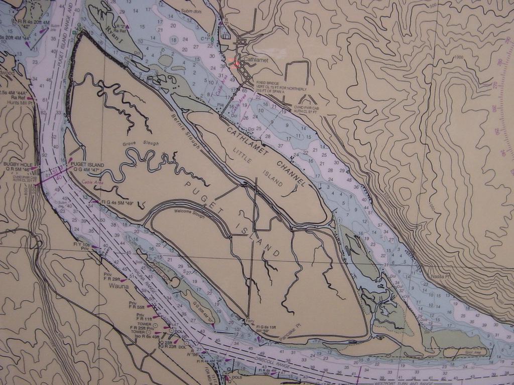 Lewis And Clark Lake Depth Maps
