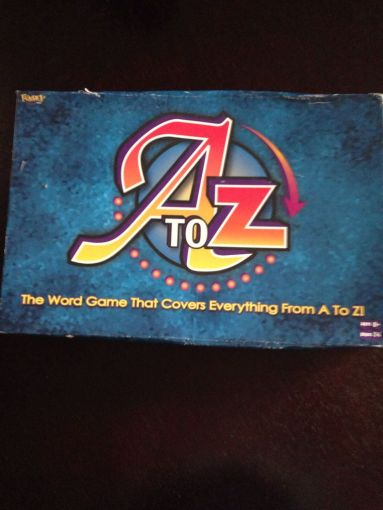 A to Z Board Game   Fundex Games  Word Game    from Sort It Apps A to Z Board Game   Fundex Games  Word Game  front image  front