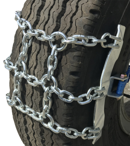 TireChain.com 295/80-22.5, 295/80 22.5 Ratchet Strap Emergency Tire Chains