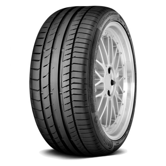 Continental ContiSportContact 5 SSR 255/40R18 SL High Performance Run Flat Tire