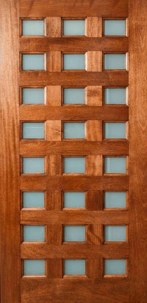 Danum Multi Lite Door With Obscure White Laminate Glass