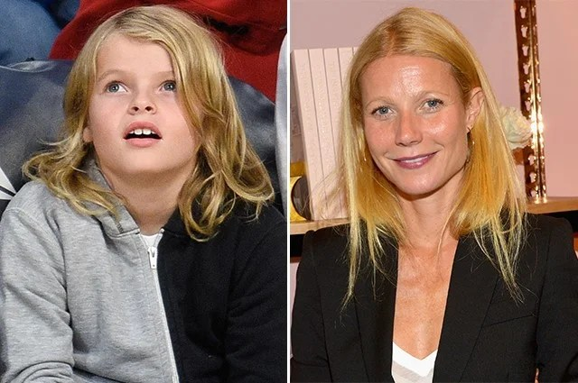 Gwyneth Paltrow's 9-Year-Old Son, Moses, Looks Exactly ...