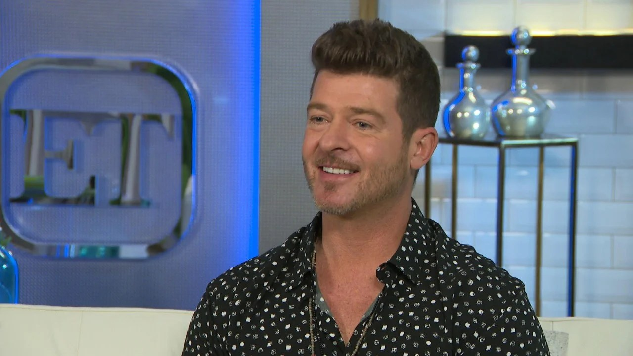 'The Masked Singer': Robin Thicke Dishes on Secret Clues ...