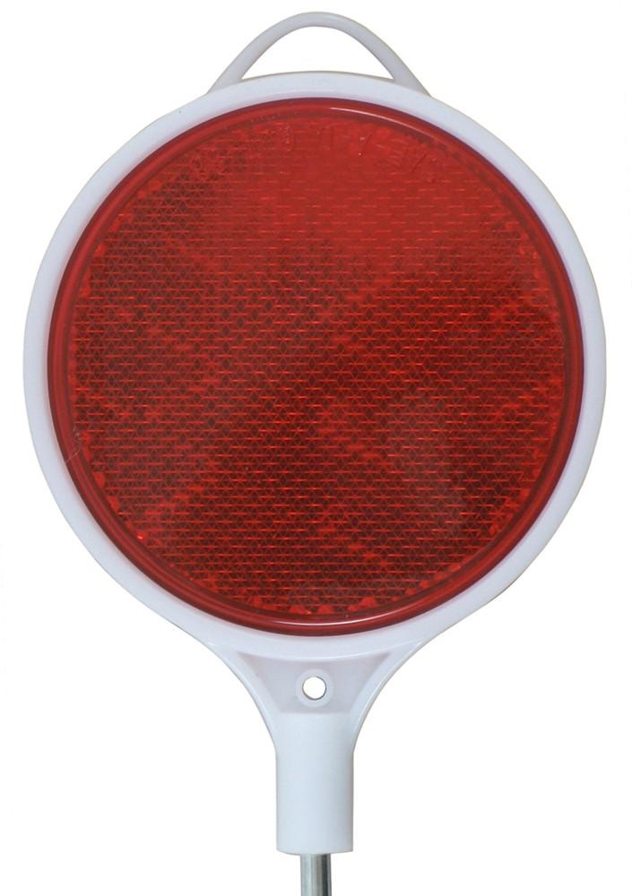2 Round Red Marker Lights