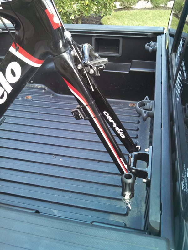 Rockymounts Clutch Sd Truck Bed Rail Bike Carrier Fork
