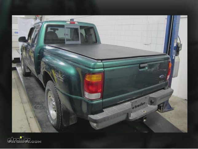 Craftec Hatch Style Tonneau Cover Low Profile Black