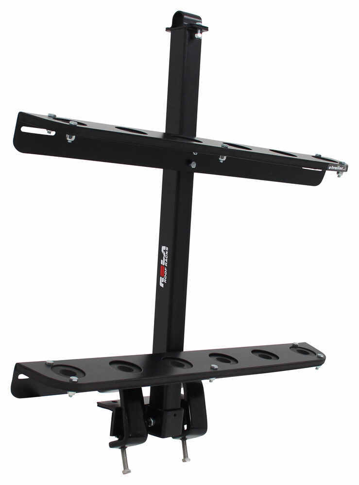 Rola Shovel Rack For Open Utility Trailers And Truck Beds