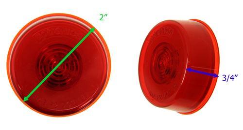 Lights Marker 2 Red Round
