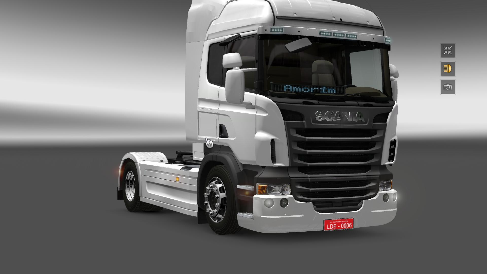 New Wheels For Scania Tuning Mod Euro Truck Simulator 2