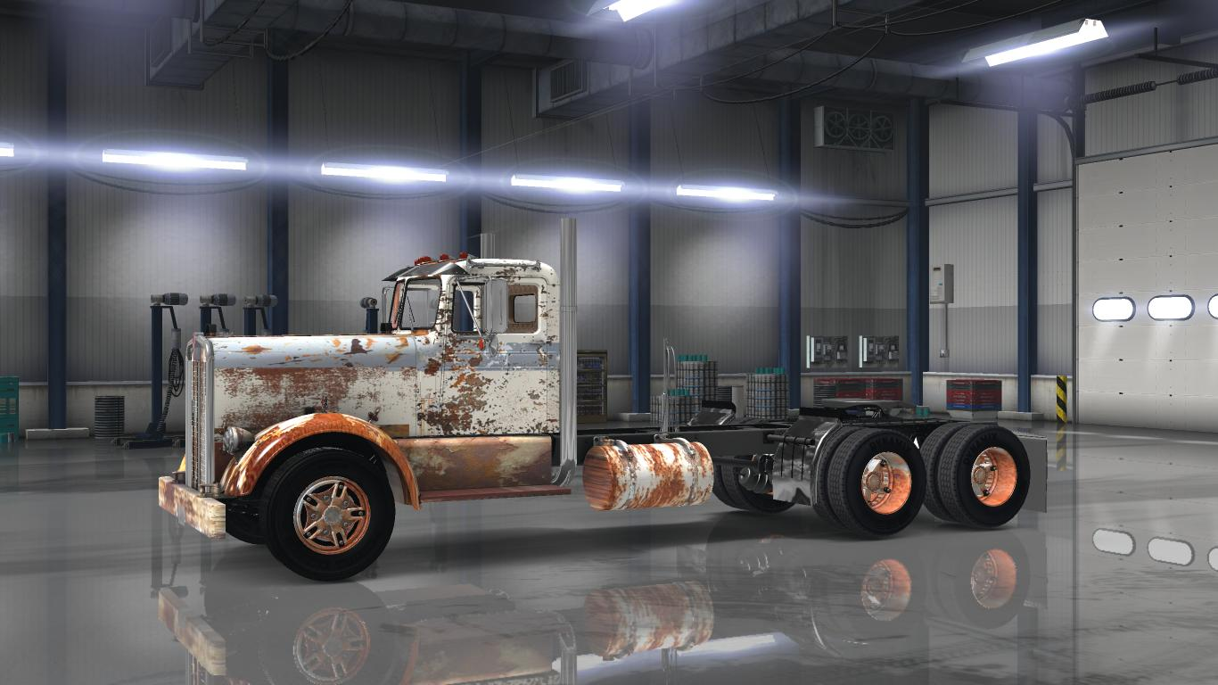 Old Rusty Payware Kenworth 521 V1 0 For Ats Euro Truck