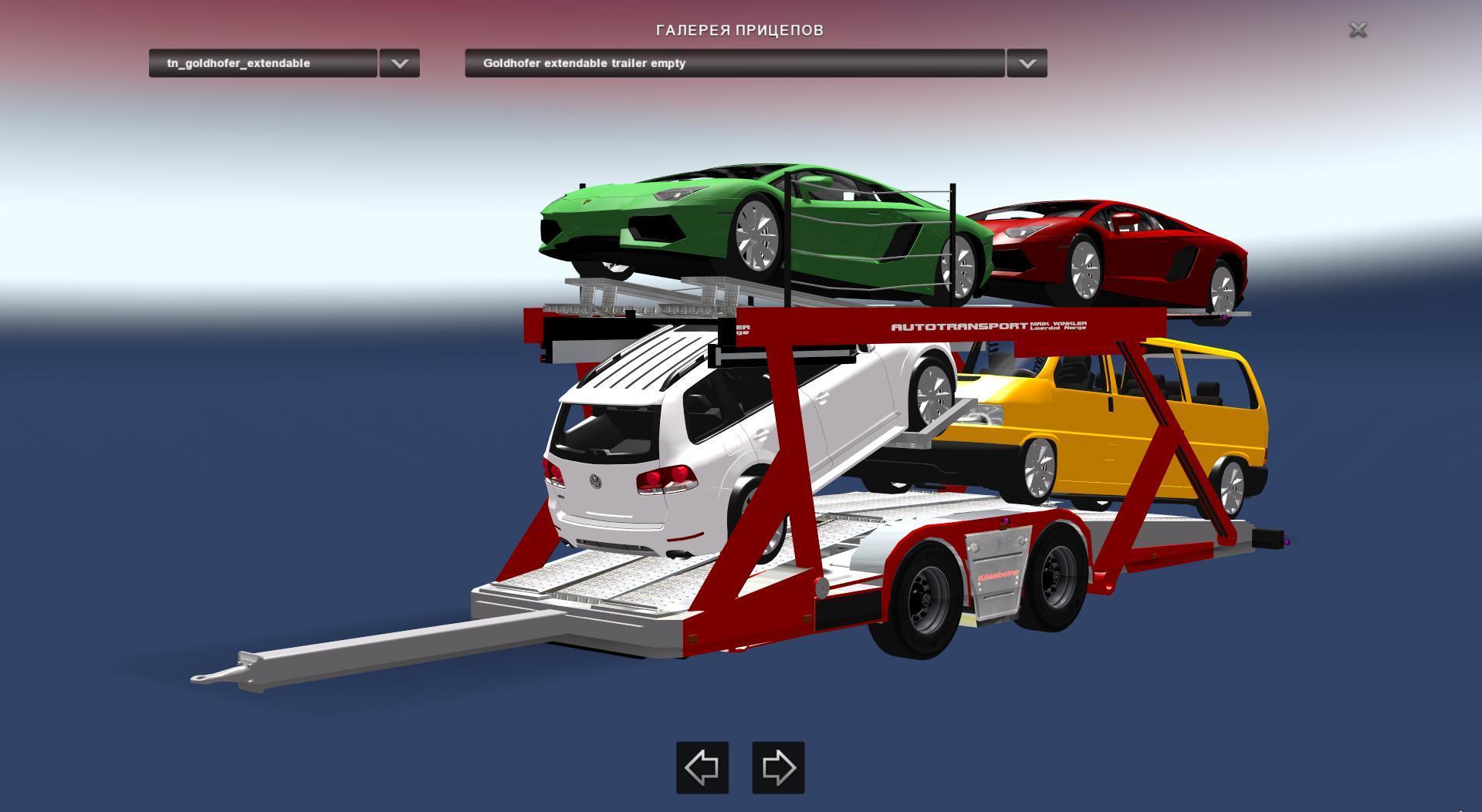 Daf Xf Car Carrier Daf Xf Auto Transporter V1 0 Truck