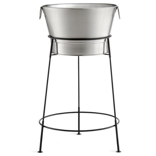 Tub Stand Stainless Beverage Steel