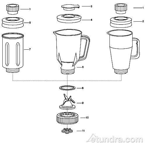 Waring 702 Blender Parts