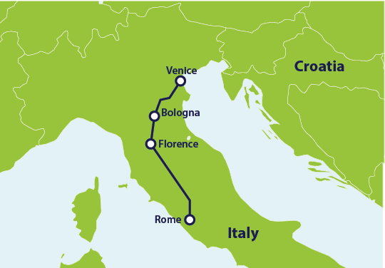 How to Get From Rome to Venice by Train | Eurail.com