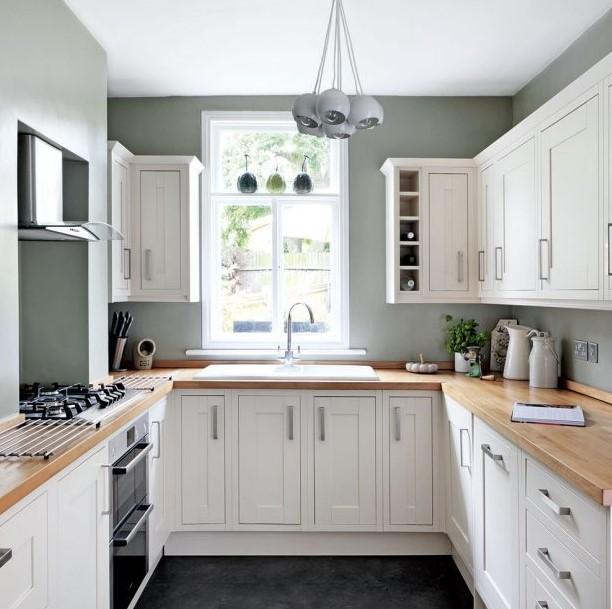U Shaped Kitchen Designs Small Kitchens
