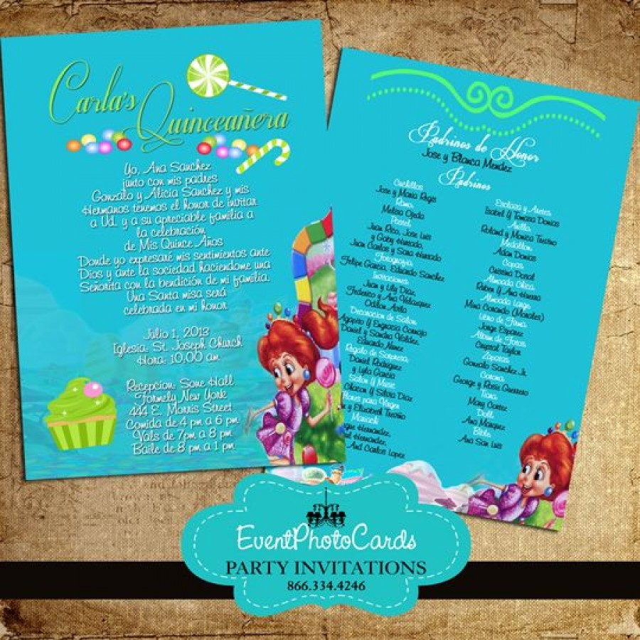 Custom 5x7 Invitations