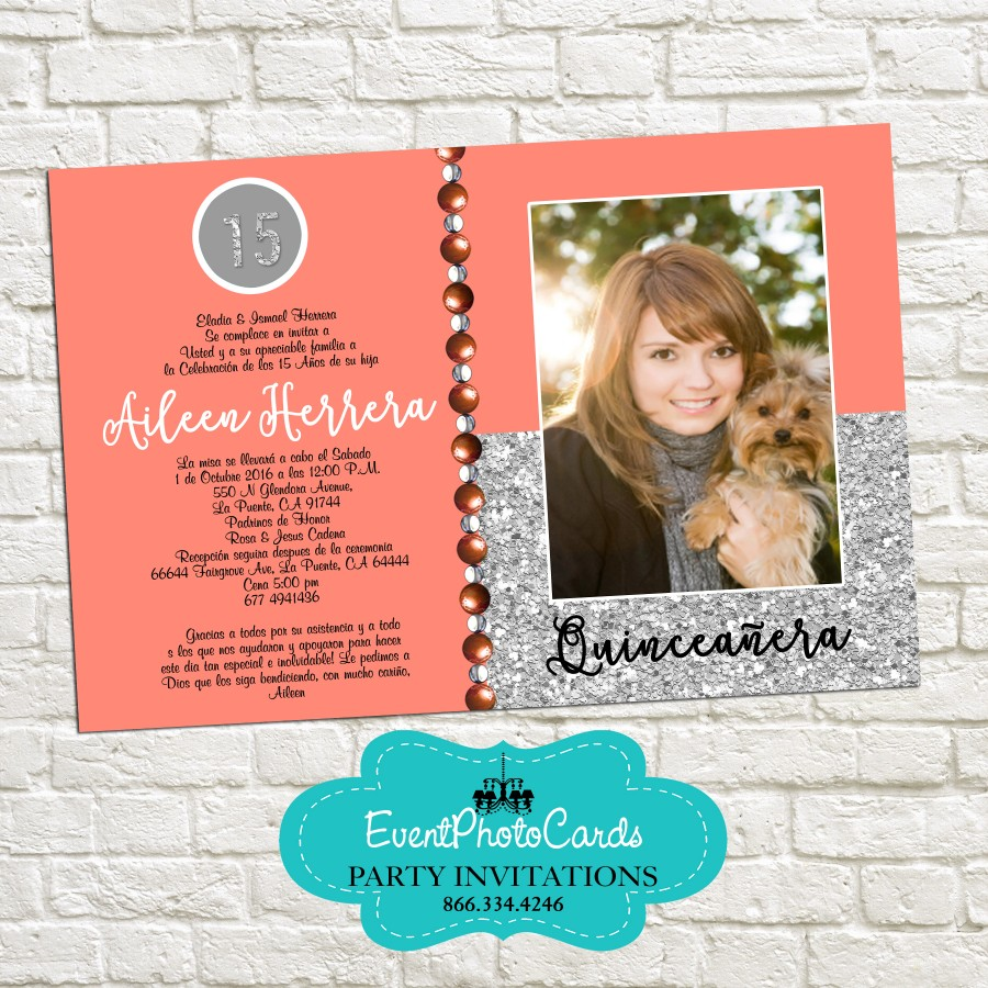 Printed Graduation Party Invitations