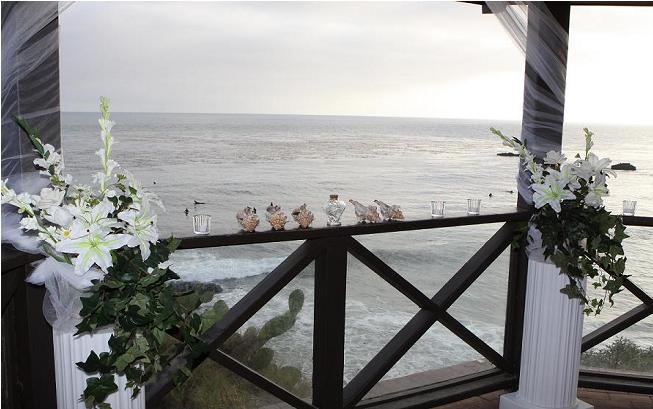 Beach View Wedding