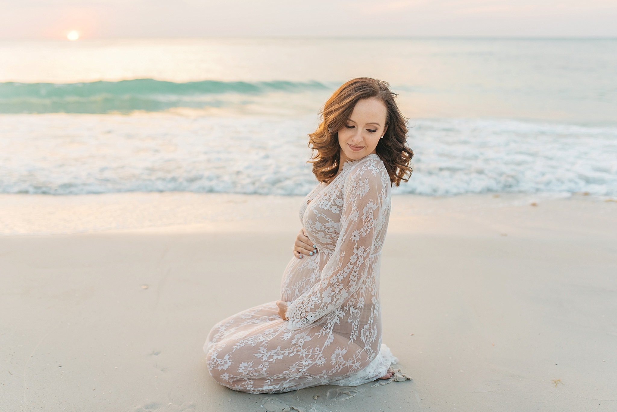 Darla Longboat Key Beer Can Island Maternity Session