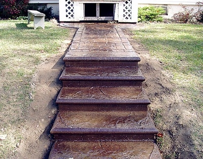 Concrete Steps And Concrete Stairs Why To Use Concrete To Build   Wood Over Concrete Steps   Building   Stair Stringers   Concrete Patio   Concrete Porch Makeover   Composite Decking
