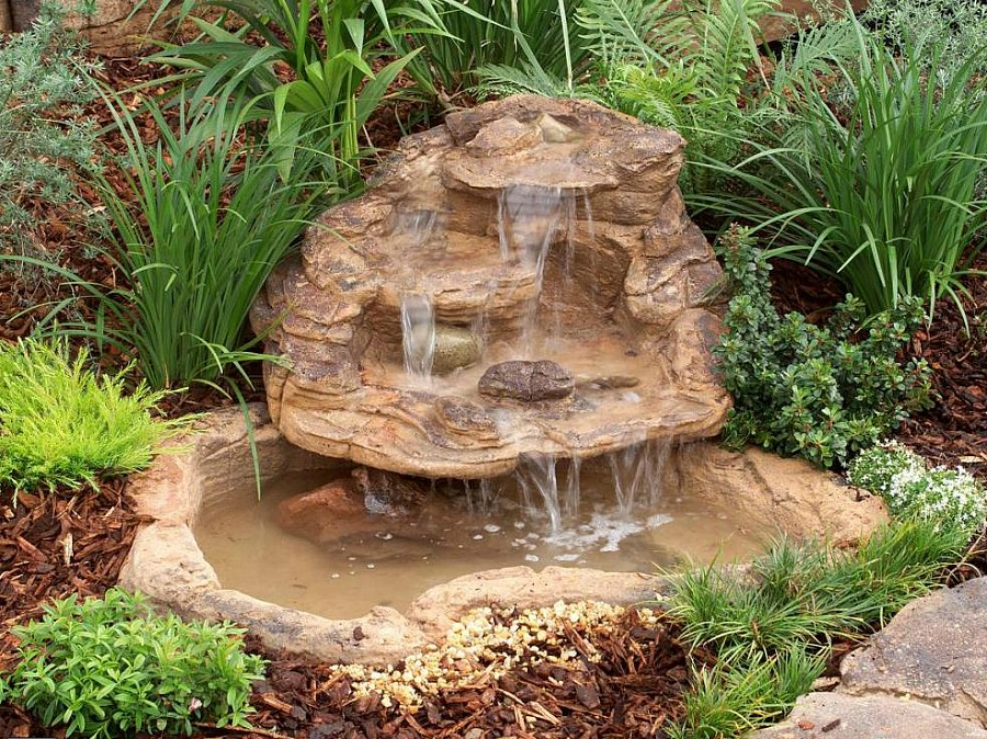 Waterfall Pond Design Garden