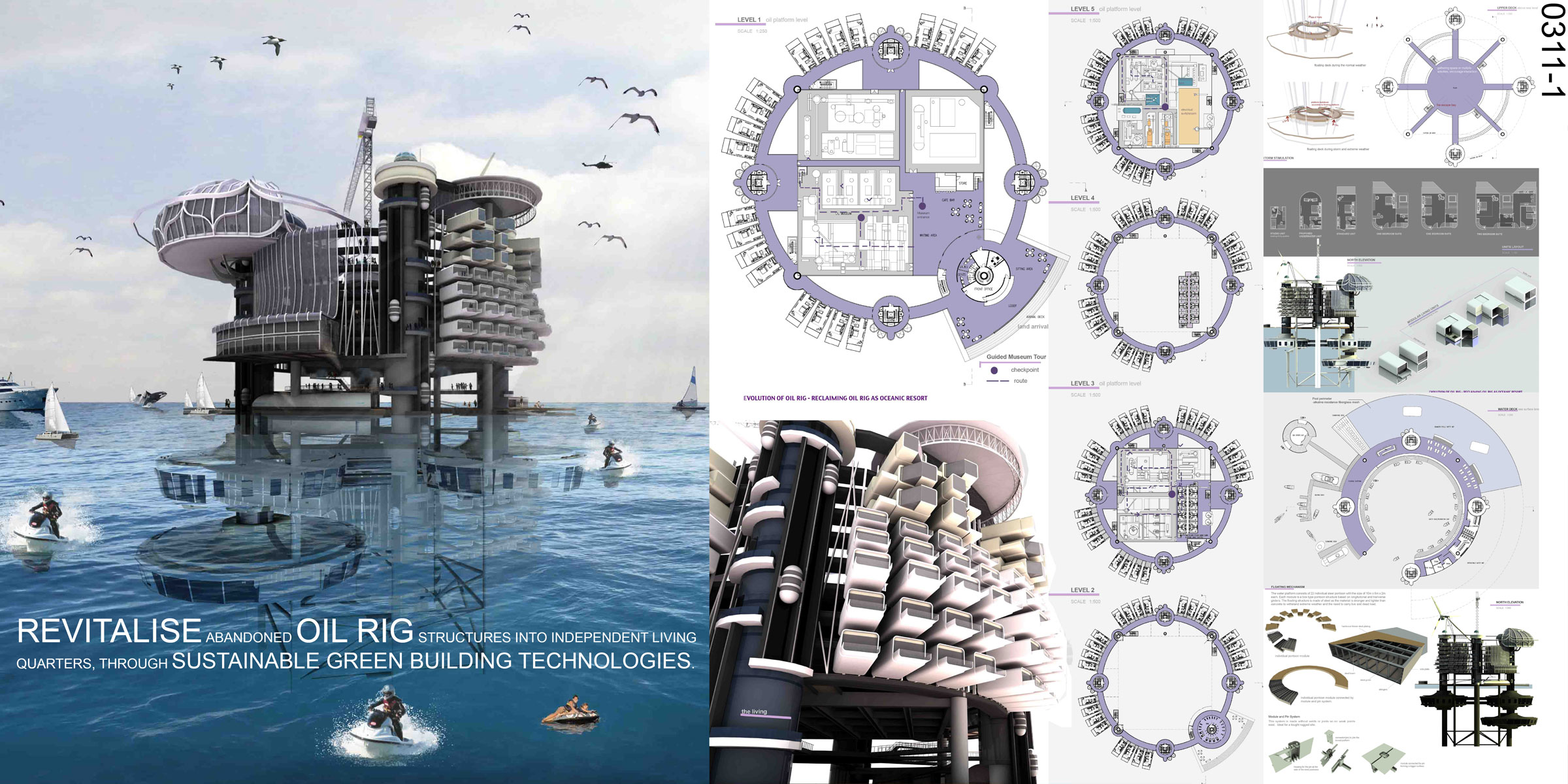 Transforming Abandoned Oil Rigs into Habitable Structures ...