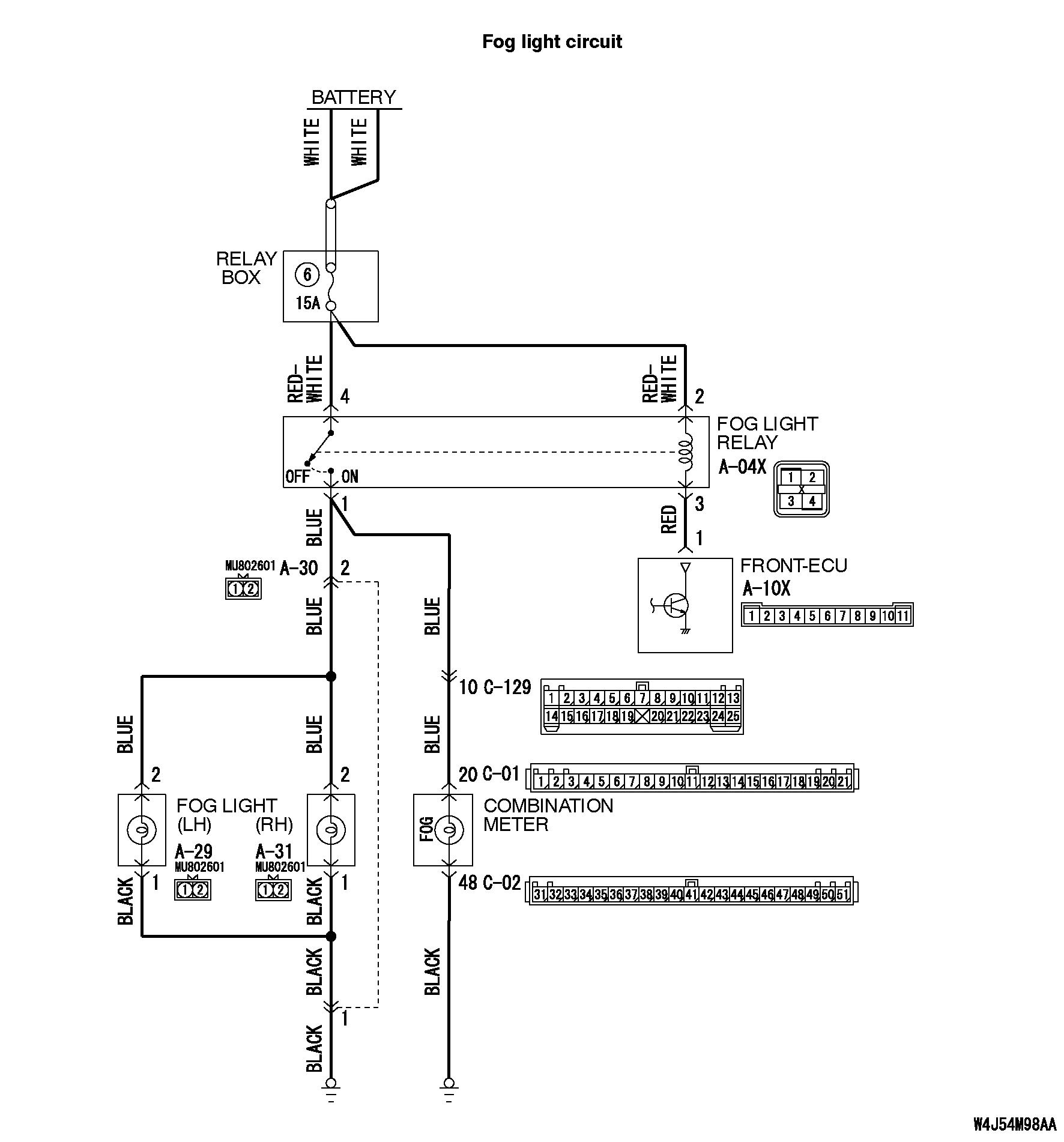 Wiring Diagram For 02 Toyota Tundra 2007 Fog Light