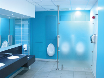 Supplying and fitting of quality cubicle systems and high end     Evolution Washrooms