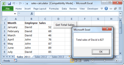 Sales Calculator in Excel VBA - Easy Excel Macros