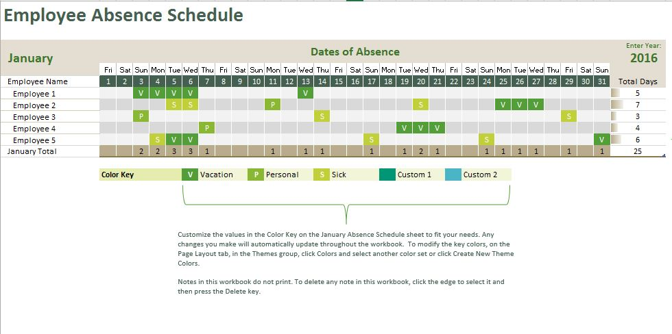 Templates For Microsoft Works Calendar