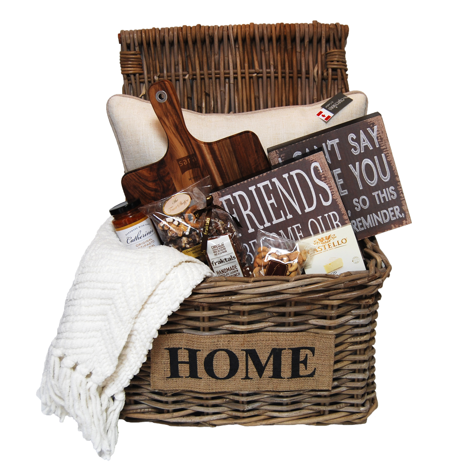 Home Decor   Excellent Choice Baskets  EC Baskets Welcome Home Lg