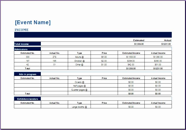 Credit Card Log Template Excel