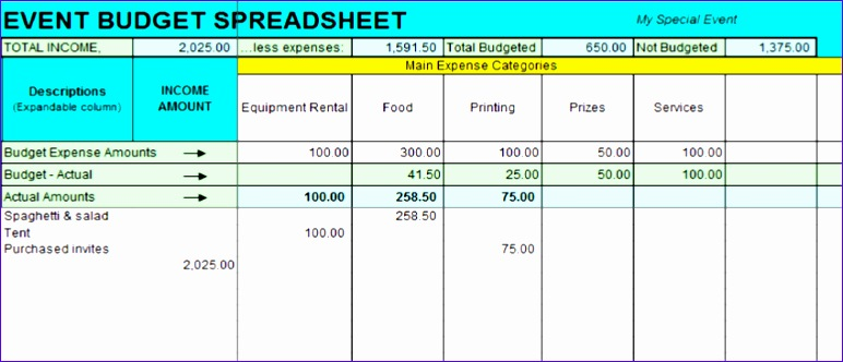 5 Excel Income And Expense Template Exceltemplates