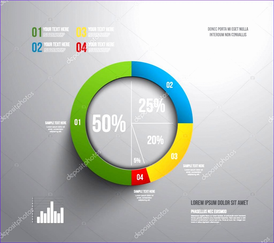 Pie Chart Template Excel 2010