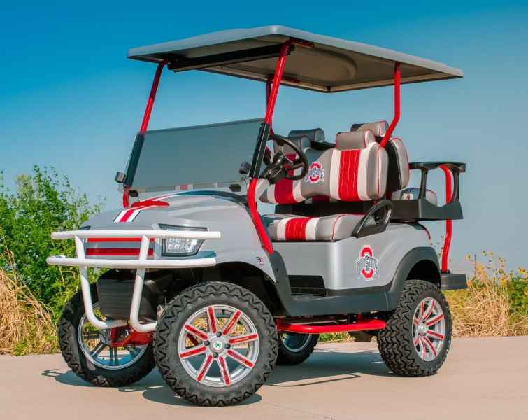 Ohio State Golf Cart   Cart Service   Be Excessive    Excessive     Ohio State Golf Cart